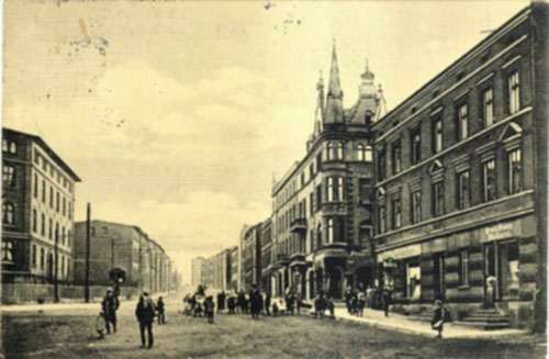 ul. Łagiewnicka 1910 r.