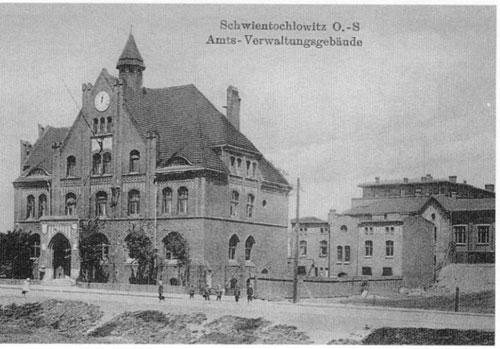 Urząd Gminy Świętochłowice 1913 r.