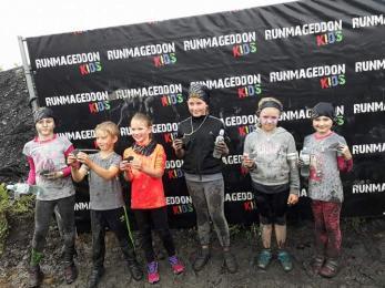 Świętochłowickie dzieci w Runmageddon Kids Silesia