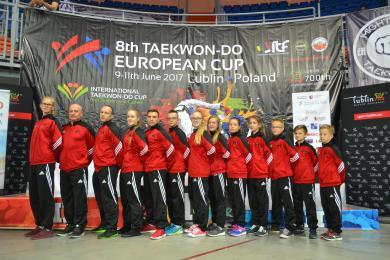 5 medali Taekwondoków w VIII Pucharze Europy