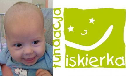 Pomóżmy malutkiej Sandrze w walce z neuroblastomą!