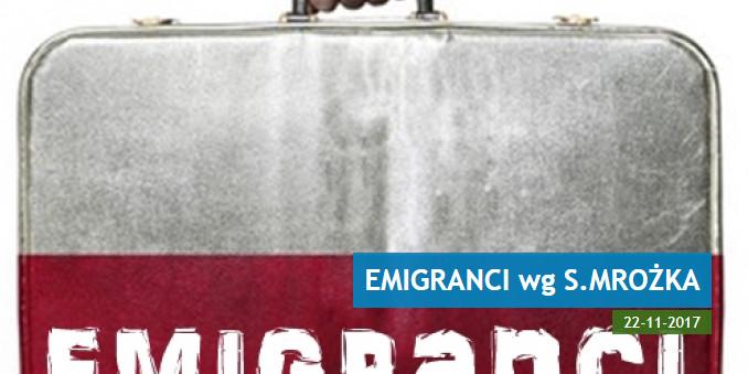 Emigranci - kultowa komedia Sławomira Mrożka