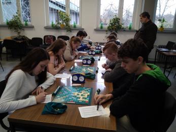 II Międzyszkolny Turniej Scrabble