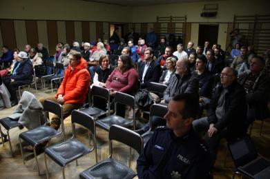 Mieszkańcy pytali o inwestycję na Uroczysku