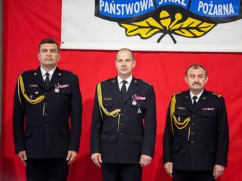 Zmiana na stanowisku komendanta miejskiego PSP