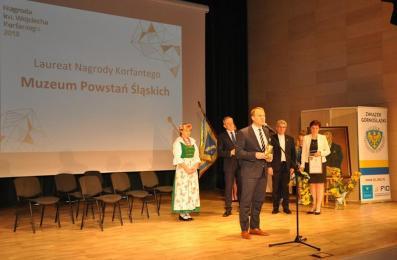 Muzeum Powstań Śląskich laureatem Nagrody im. W. Korfantego