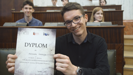 Finał III edycji Klasówki Powstańczej w Sali Sejmu Śląskiego