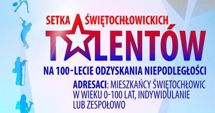 Setka Świętochłowickich Talentów - konkurs