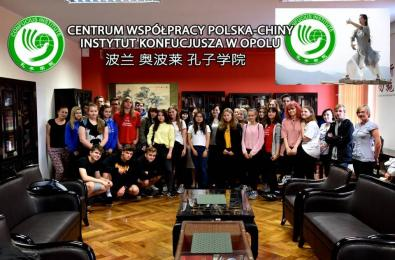 Uczniowie I LO na warsztatach w Opolu