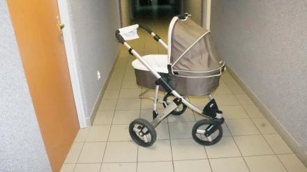 Odnaleziono wózek dziecięcy