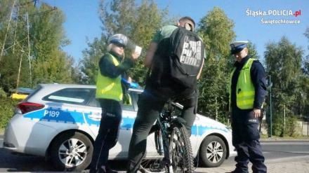 Policyjny dzień odblasków w Świętochłowicach