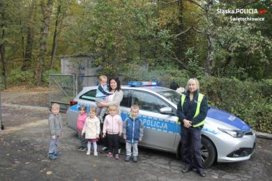 """Dzieciaki na """"Bezpiecznej drodze do przedszkola"""