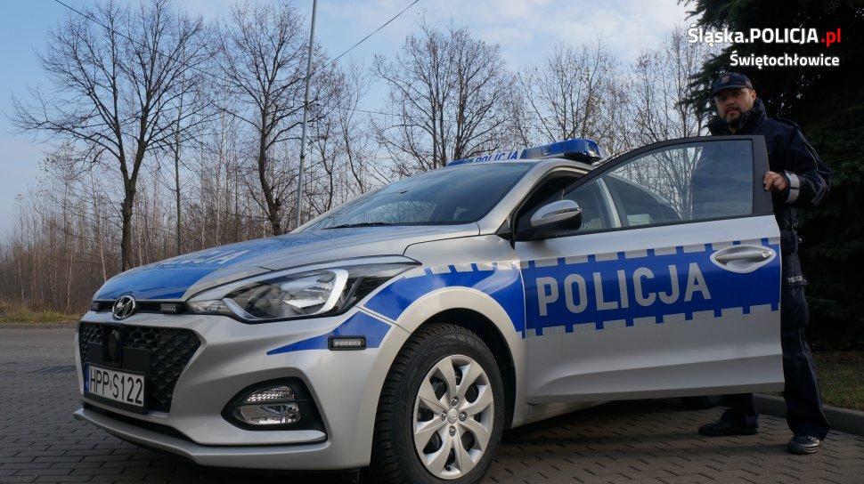 Nowy radiowóz w Świętochłowicach