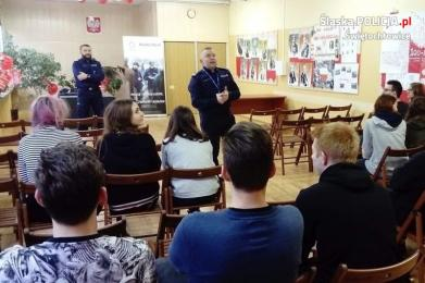 Świętochłowice promują służbę w policji