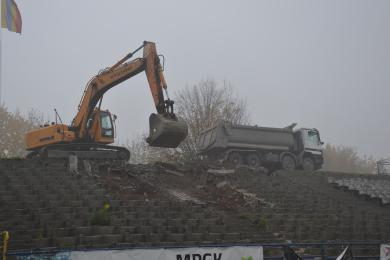 Porozumienie z Mostostalem Zabrze. Kiedy zakończy się przebudowa stadionu OSiR Skałka?