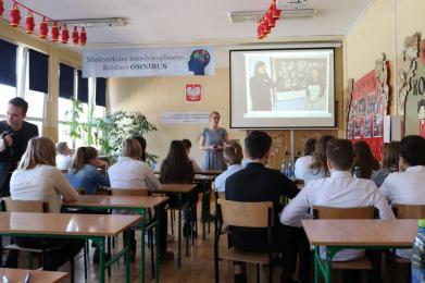 Konkurs Omnibus dla uczniów klas VIII z ZSO nr 1 w Świętochłowicach