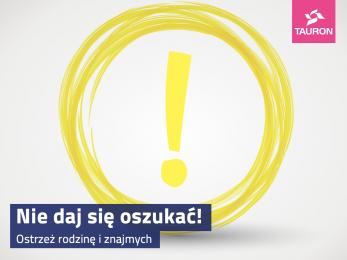Oszuści w Świętochłowicach podszywają się pod firmę energetyczną TAURON