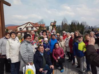 Członkowie świętochłowickiego oddziału PTTK spędzili Niedzielę Palmową na wyjeździe