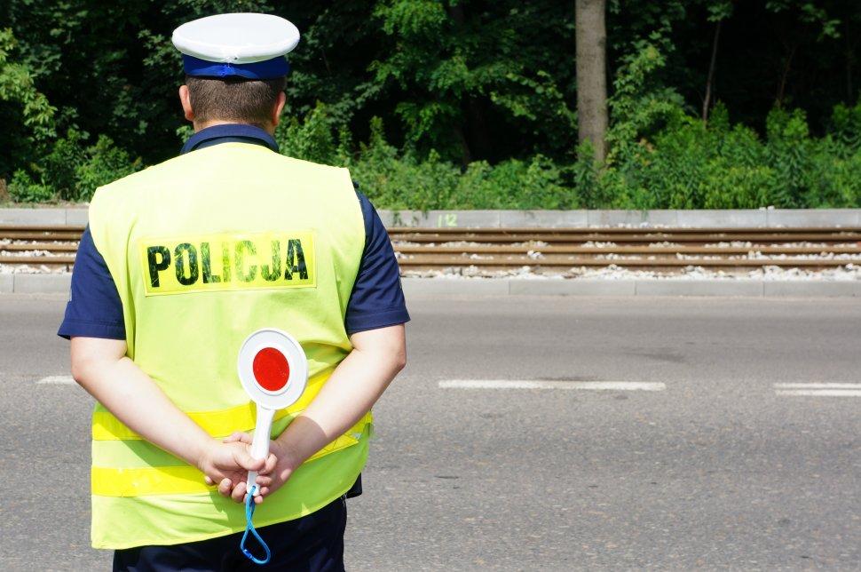 """Policjanci prowadzą działania """"Bezpieczny Pieszy"""""""
