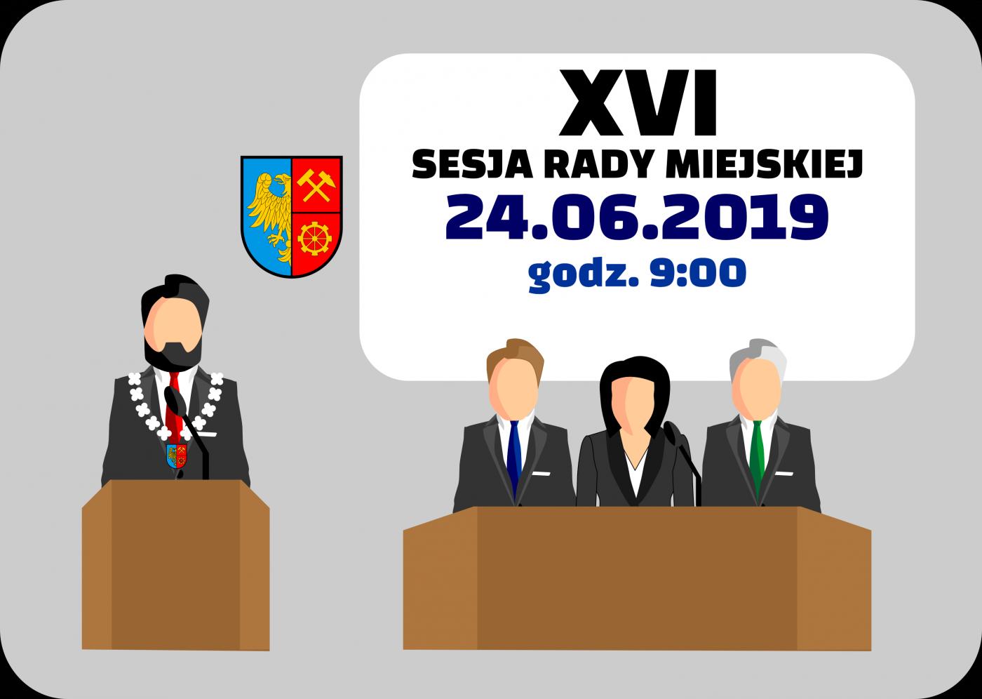 XVI sesja Rady Miejskiej poświęcona będzie m.in. absolutorium dla Prezydenta Miasta
