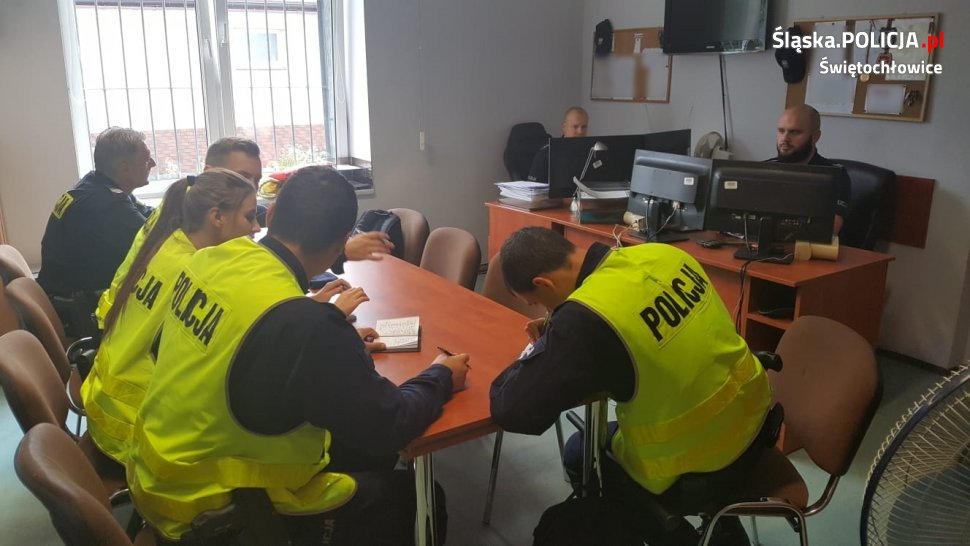 Modzi adepci policyjnego rzemiosła w Świętochłowicach