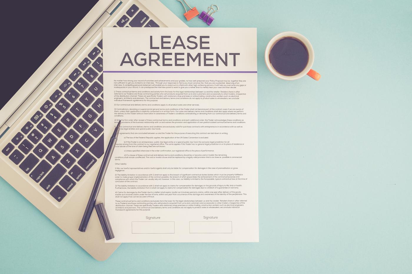 Zawarcie umowy leasingowej - jakich dokumentów potrzebujemy?