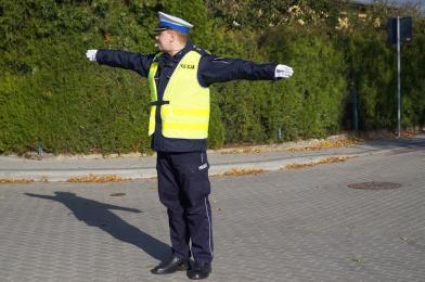 W piątek policyjni adepci będą uczyli się kierowania ruchem w Świętochłowicach