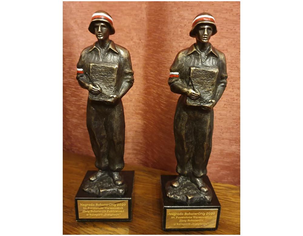 Dwa Złote BohaterONy dla Muzeum Powstań Śląskich