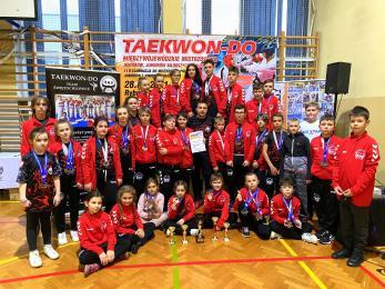 32 medale dla świętochłowickiego klubu TEAKWON-DO