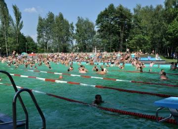 W ubiegły weekend ponad 4 tys. osób odwiedziło Kąpielisko na Skałce
