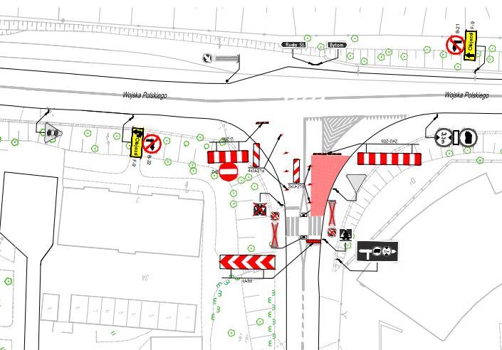 Uwaga! Zmiana organizacji ruchu w związku z zamknięciem ulicy Hajduki