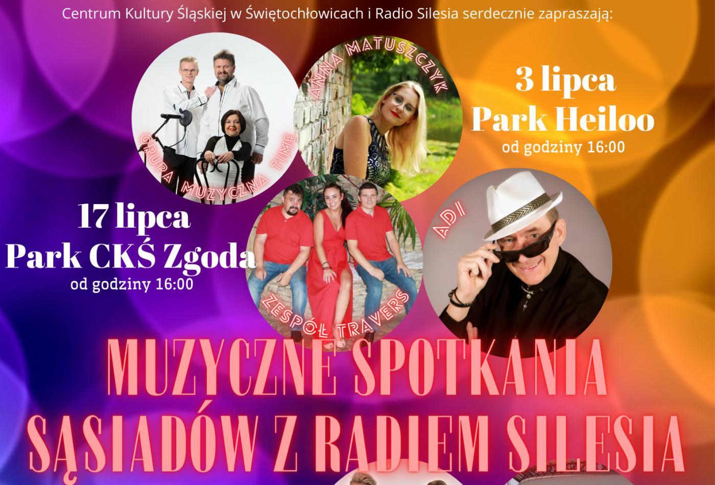 Muzyczne Spotkania Sąsiadów z Radiem Silesia ponownie w wakacje
