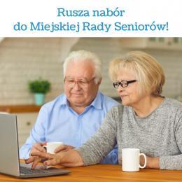 Rusza nabór do Miejskiej Rady Seniorów