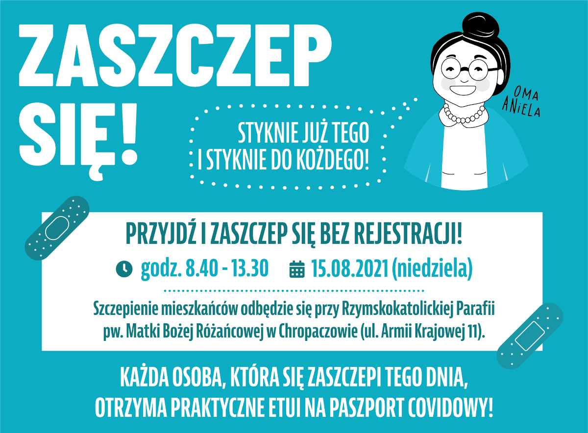 Mobilny punkt szczepień w Świętochłowicach