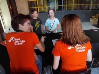 Świętochłowiccy wolontariusze na Industriadzie