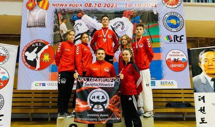 Zawodnicy Klubu Taekwon-Do Świętochłowice z medalami!