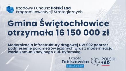 Kolejne rządowe dofinansowanie trafi do Świętochłowic. To ponad 20 mln złotych