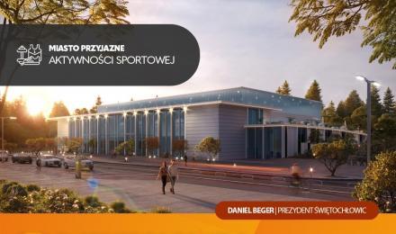 Prezydent Beger zaprezentował projekt nowej hali sportowej, która powstanie na Skałce